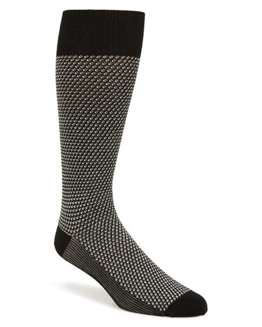 Calibrate | Gray Jacquard Pattern Socks for Men | Lyst