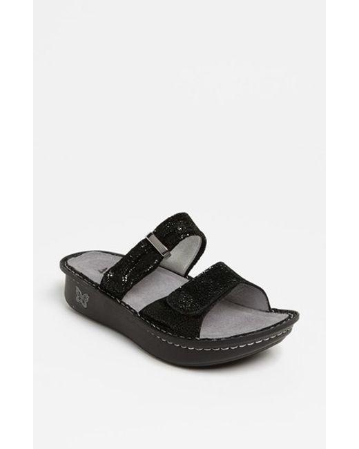Alegria | Black 'karmen' Sandal | Lyst