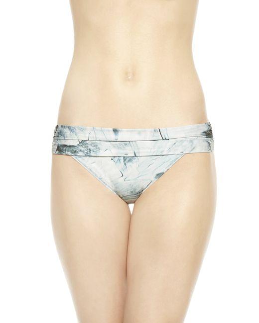 La Perla | Blue High-rise Bikini Briefs | Lyst