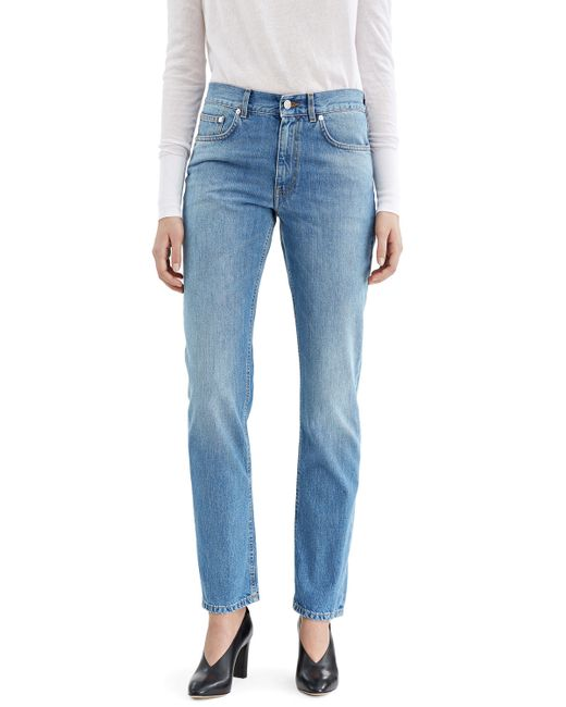 Acne | Blue High-rise Skinny Legging-style Jeans | Lyst