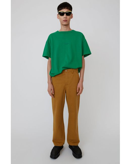 Acne - Workwear Trousers antique Brown for Men - Lyst