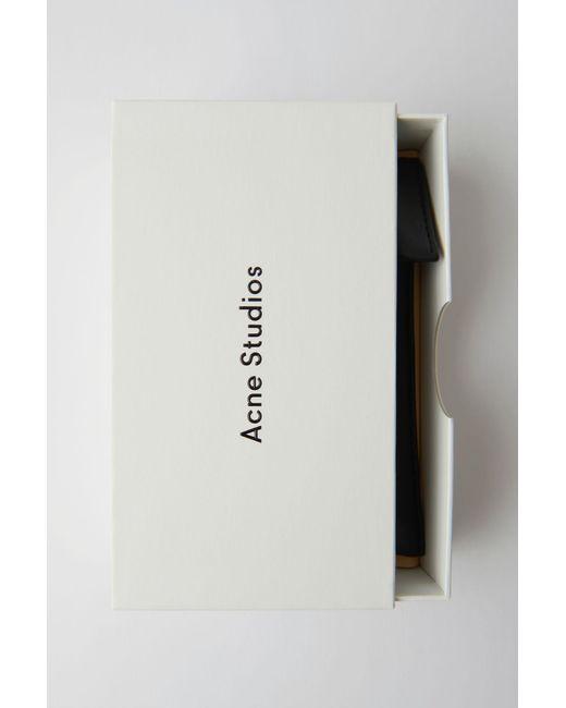 Lyst - Acne Large Square Frame Sunglasses orangelilac/brown Degrade ...