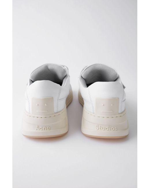 Men's Velcro Sneakers White by Acne Studios