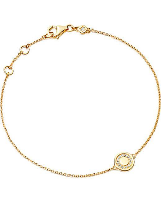 Astley Clarke | Metallic Mini Cosmos Yellow Gold And Diamond Bracelet | Lyst