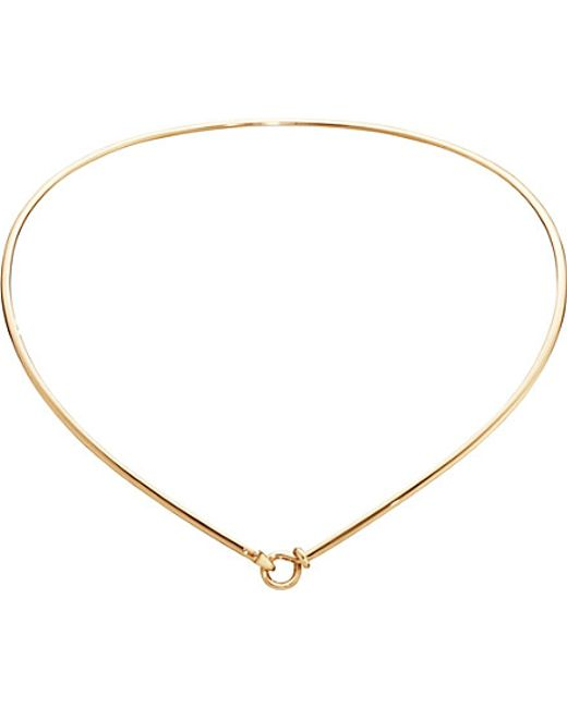 Georg Jensen | Dew Drop 18ct Yellow-gold Necklace | Lyst