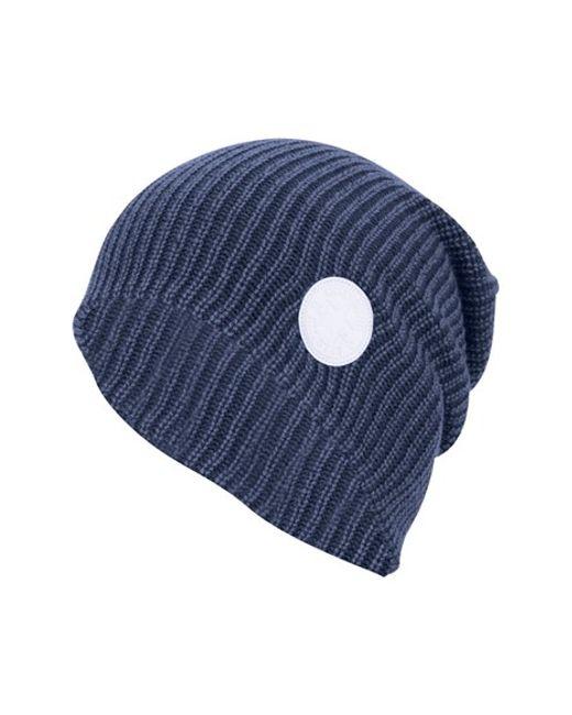 Converse   Blue 'winter Slouch' Knit Cap for Men   Lyst