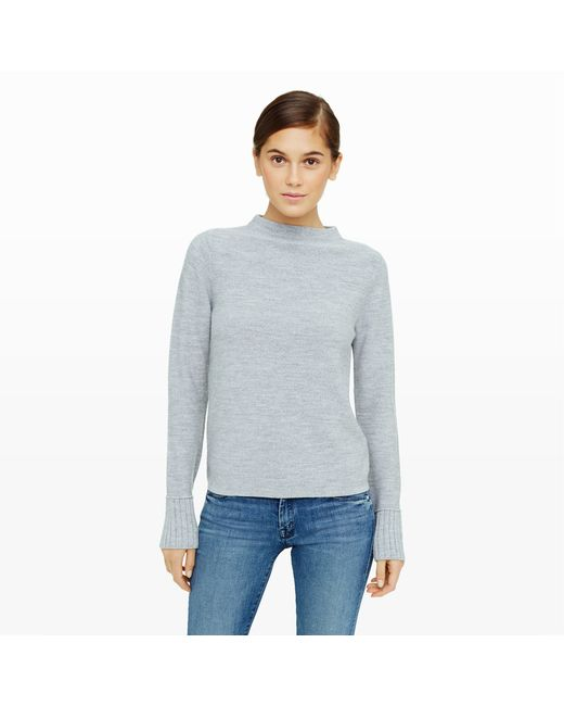 Club Monaco | Gray Tommie Merino Sweater | Lyst