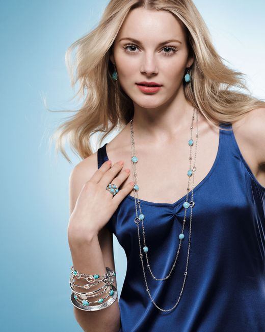 Ippolita | Blue Lollipop Turquoise Necklace | Lyst