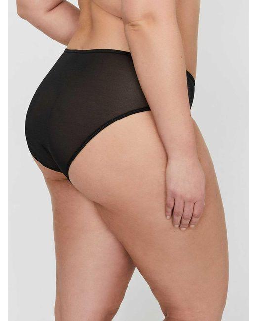 99514125ca0 ... Addition Elle - Black Ashley Graham High Cut Shadow Stripe Panty - Lyst  ...