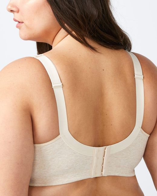 fe8f05cf5a3 ... Addition Elle - Natural Cotton Wirefree Bra - Ti Voglio - Lyst