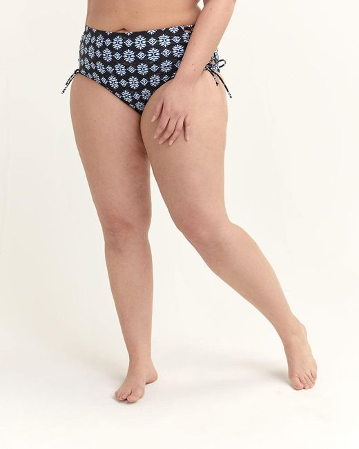 0892f162838 ... Addition Elle - Black Mid-rise Brief Swim Bottom - Raisins Curve - Lyst  ...