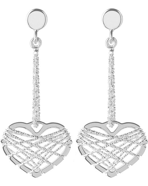 Links of London | Metallic Dream Catcher Heart Earrings | Lyst