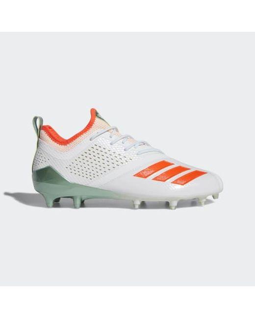 c6a5ed073 Adidas - White Adizero 5-star 7.0 Long Island Low Cleats for Men - Lyst ...