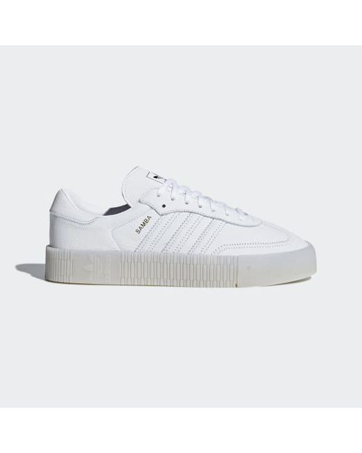 151afd6431d Adidas - White Sambarose Shoes for Men - Lyst ...