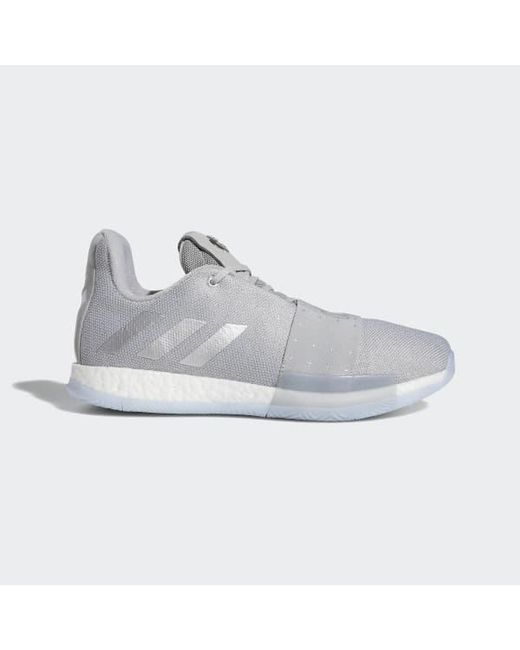 new style baaf1 7c811 Adidas - Gray Harden Vol. 3 Shoes for Men - Lyst ...