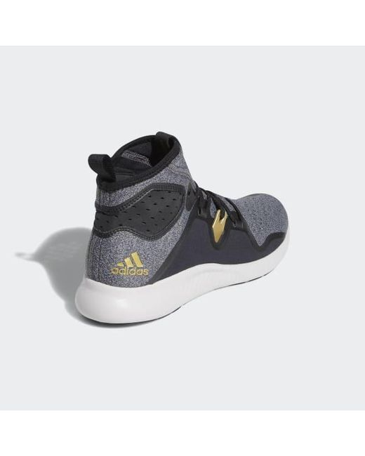 innovative design 1e67a 91176 ... Adidas - Black Edgebounce Mid Shoes for Men - Lyst ...