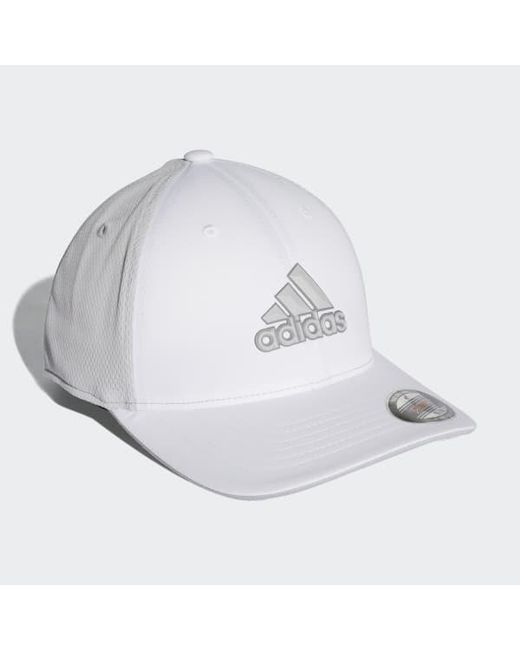 bf85b5a53fa ... Adidas - White Climacool Tour Cap for Men - Lyst ...