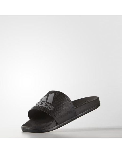 b30db40f3a84c ... Adidas - Black Adilette Supercloud Plus Slides for Men - Lyst ...