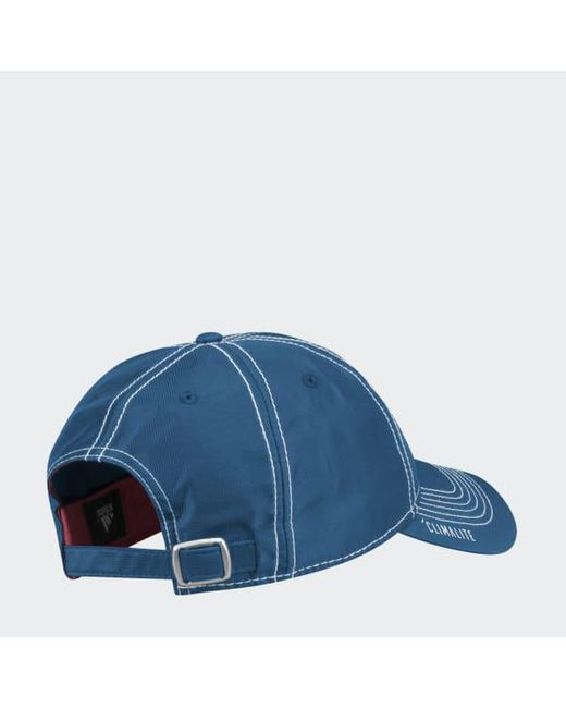 ... Adidas - Blue Avalanche Adjustable Slouch Dobby Hat for Men - Lyst 6c8d6770707d