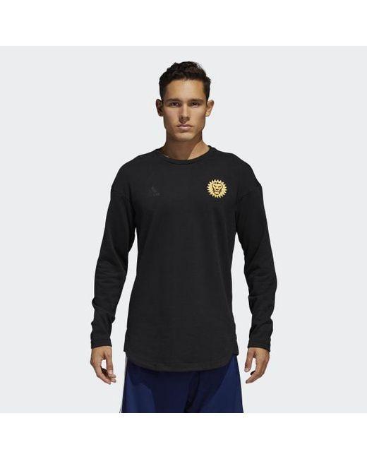 Adidas - Black Orlando City Tango Futures Sweat Jersey for Men - Lyst