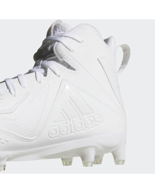 new product 6f716 d8585 ... Adidas - White Freak X Carbon Mid Cleats for Men - Lyst ...