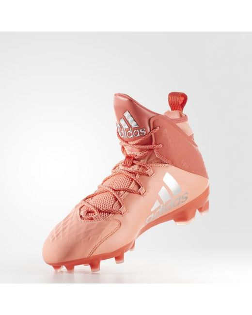 c14d347f522 ... Adidas - Orange Freak Lax Mid Cleats for Men - Lyst ...