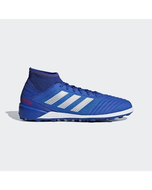 849ba95ae ... cheap for discount e3c0c 20282 Adidas - Blue Predator Tango 19.3 Turf  Shoes for Men -