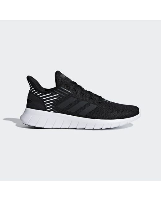 d4cac222a03b Adidas - Black Asweerun Shoes - Lyst ...