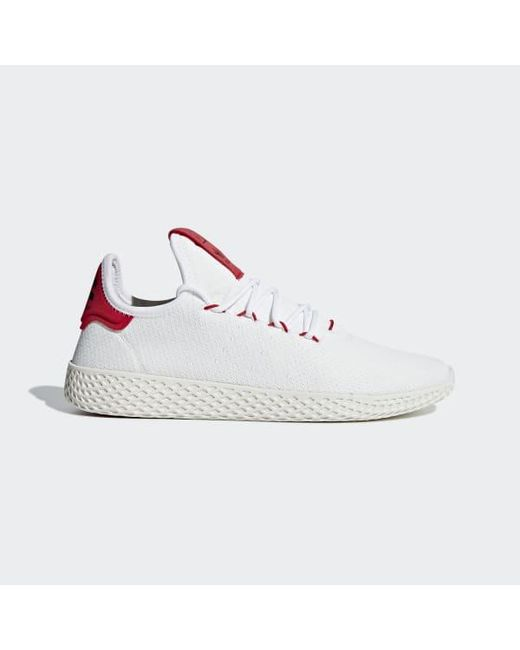 9c1069911898c5 Adidas - White Pharrell Williams Tennis Hu Shoes for Men - Lyst ...