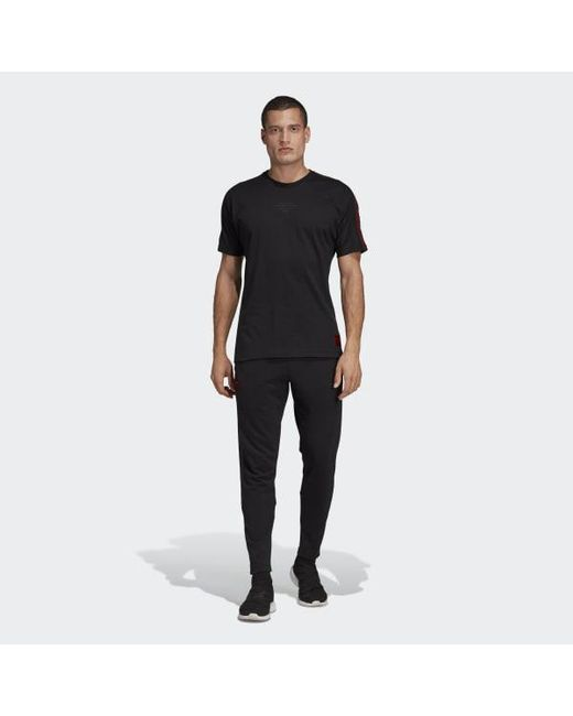 1642c8ee065 ... Adidas - Black Manchester United Seasonal Special T-shirt for Men -  Lyst ...