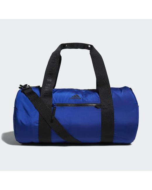 4258a99a76e8 Adidas - Blue Vfa Roll Duffel Bag for Men - Lyst ...