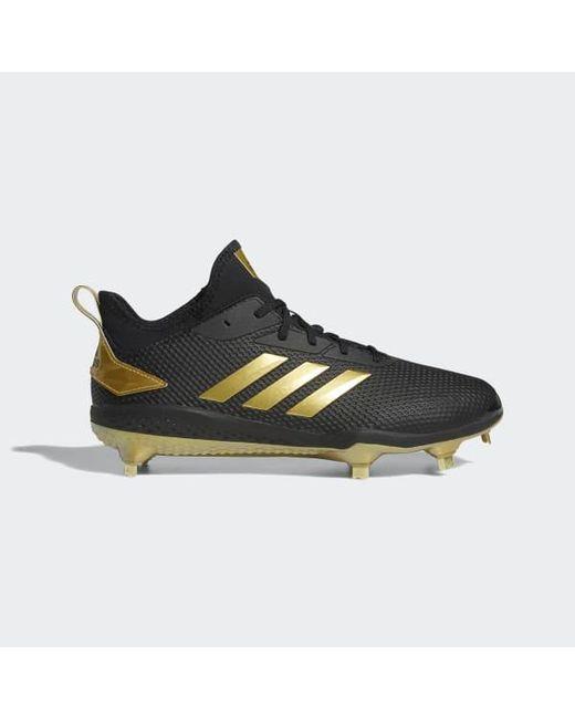 43f79384141e Adidas - Black Adizero Afterburner V Cleats for Men - Lyst ...