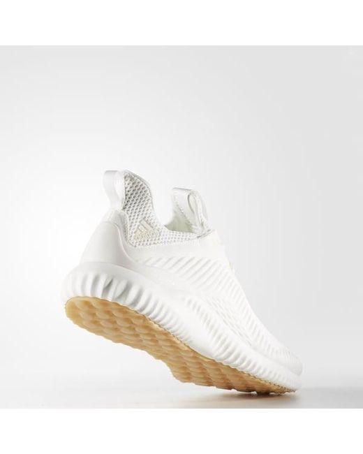 b4f48532b ... Adidas - White Alphabounce Em Undye Shoes for Men - Lyst ...