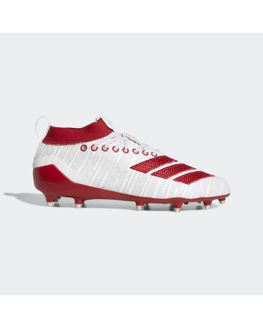 796bbaed53a Adidas - White Adizero 8.0 Cleats for Men - Lyst ...