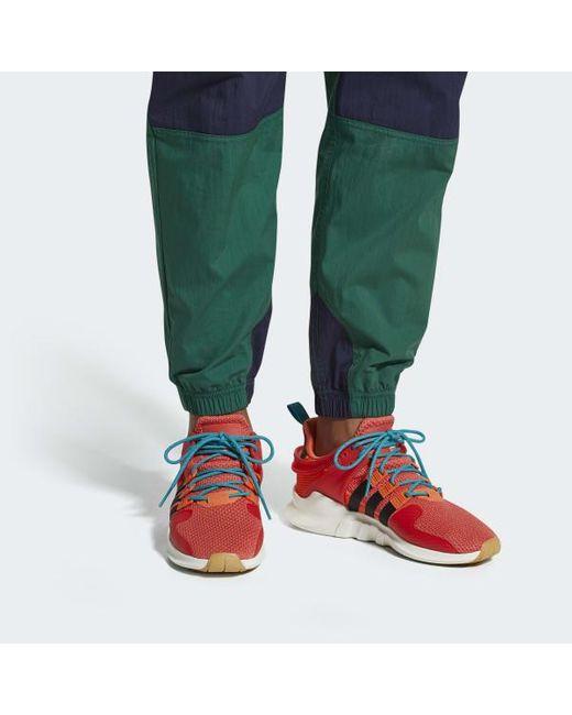 newest 7e1fb 74b40 ... uk adidas orange eqt support adv summer shoes for men lyst edb68 e235e