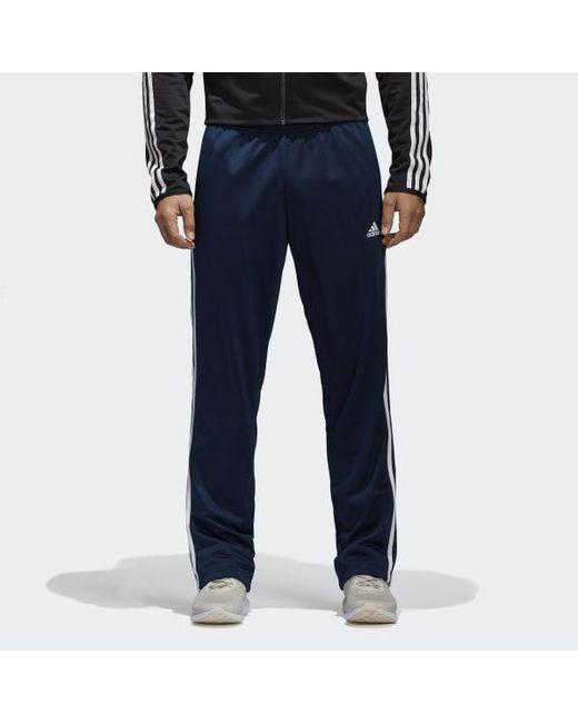 a278a7f89 Adidas - Blue Essentials 3-stripes Pants for Men - Lyst ...
