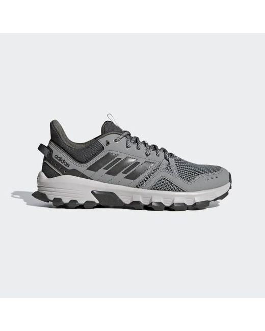 best service fc7fc 46ae0 Adidas - Gray Rockadia Trail Shoes for Men - Lyst ...