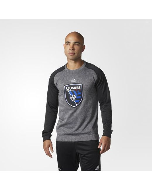 Adidas - Gray San Jose Earthquakes Ultimate Crew for Men - Lyst