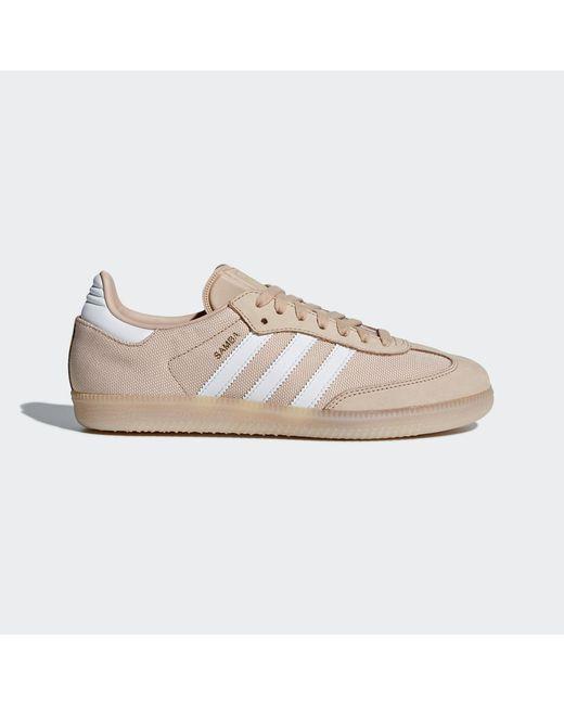 Lyst Adidas Samba zapatos en blanco para hombres