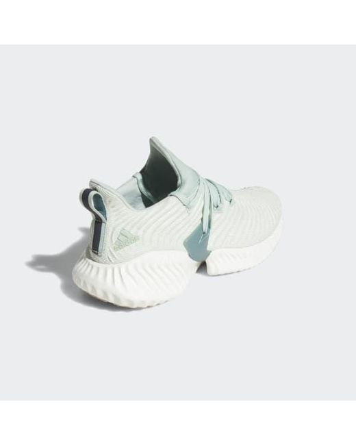 another chance 4624a f7d40 ... Adidas - Green Alphabounce Instinct Shoes - Lyst ...