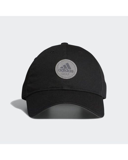 a64c59014d4b0 Adidas - Black Cotton Relax Cap for Men - Lyst ...
