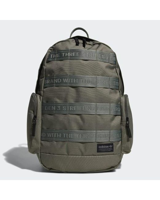 34ff686a35 Adidas - Green Create 3 Backpack for Men - Lyst ...