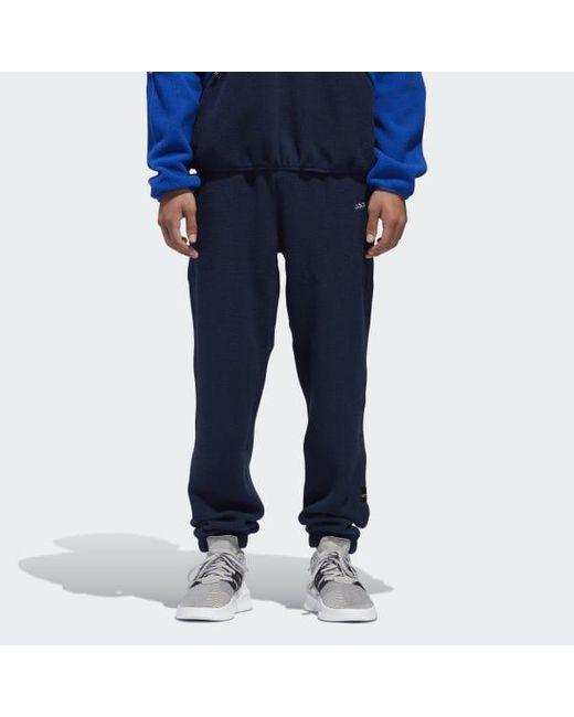 a567d290ca1a Adidas - Blue Eqt Polar Track Pants for Men - Lyst ...