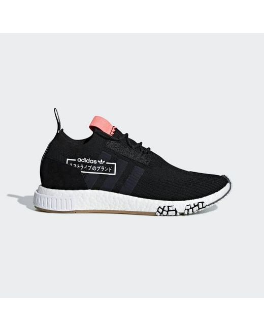 6e73ead5a Adidas - Black Nmd racer Primeknit Shoes for Men - Lyst ...