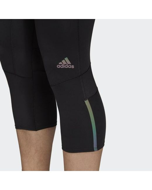 aa0d646cef62f ... Adidas - Black Supernova Tights for Men - Lyst