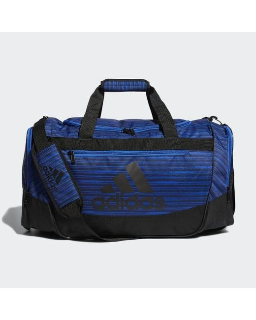 27d46b20b40b Adidas - Blue Defender 3 Duffel Bag Medium for Men - Lyst ...