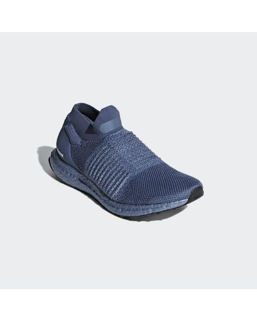 287d96f6e21 ... Adidas - Blue Ultraboost Laceless Shoes - Lyst ...