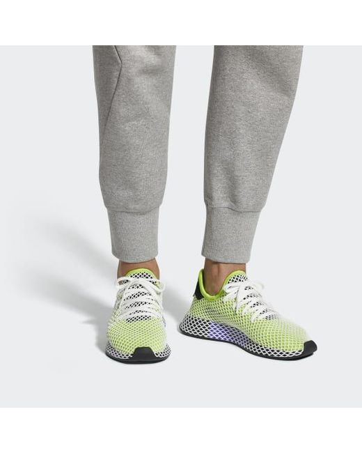 e99ef0a793220 Lyst - adidas Deerupt Runner Shoes in Green for Men - Save 30%