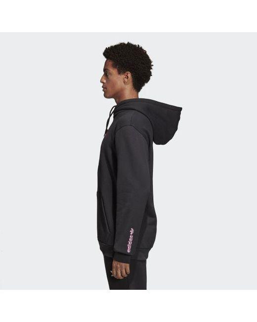 ddd326516999 ... Adidas - Black 3d Hoodie for Men - Lyst ...