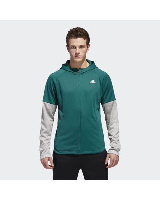Adidas - Green Team Issue Lite Hoodie for Men - Lyst